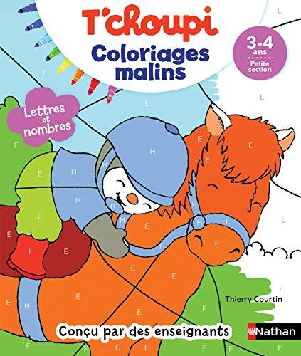 Coloriage petite section Tchoupi