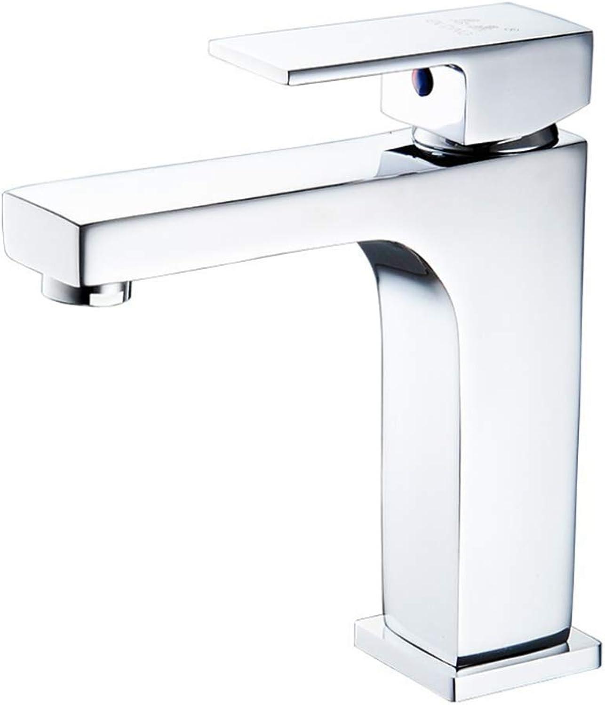 Basin Mixer Tap Bath Fixtures Wash Basinsinkkitchen Single Hole Basin Faucet Faucet Single Hole Basin Hot and Cold Water Faucet