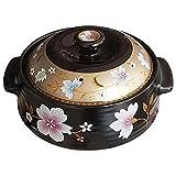 YIBOKANG Platos de cazuela Pote de arroz de cerámica, olla de arroz, platos de caza de gases de gas, olla de estofado coreano, resistencia a alta temperatura, para guiso/caldera/hervir/estofado,