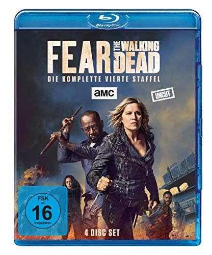 Fear The Walking Dead - Staffel 4 (Uncut) [Blu-ray]