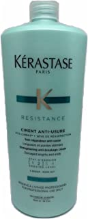 Kerastase Resistance Ciment Anti-Usure Strengthening Anti-Breakage Cream - Rinse Out (For Damaged Lengths & Ends) 1000ml