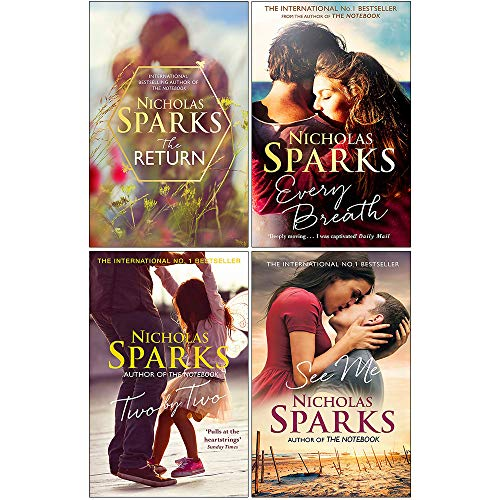 Nicholas Sparks Collection 4 Books Set (The Return [Hardcover], Every...