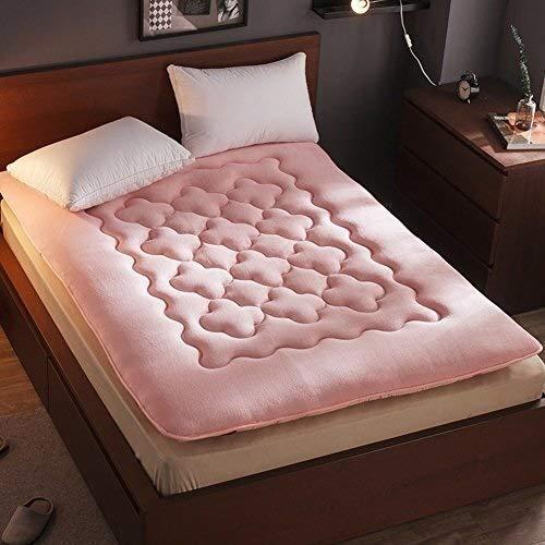 ZXL Tatami opvouwbare matras, dik, flanel, pluche, zacht, Japanse futon, Lazy Bed slaapkamer (kleur: E, maat: 120 x 200 cm)