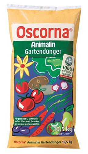 Oscorna Animalin Gartendünger, Naturdünger 10,5 Kg Beutel, organischer NPK-Dünger 2,57 EUR/1 Kg