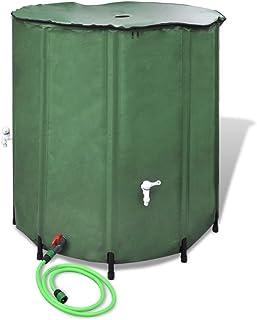 vidaXL Tanque Plegable Para El Agua, 500 L Contenedor Depósito Almacenamiento