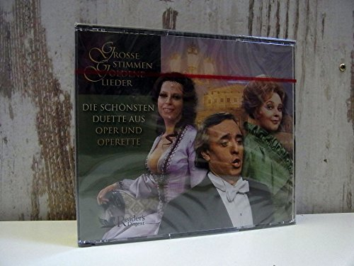 3-CD-Box - Die schönsten Duette aus Oper und Operette - GROSSE STIMMEN - GOLDENE LIEDER - Reader's Digest