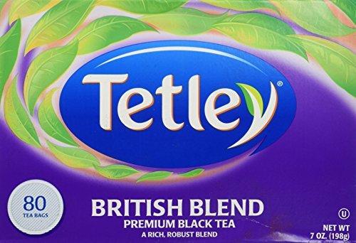 Tetley British Blend Premium Black, Tea Bags, 80 ct by Tetley