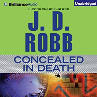 Concealed in Death audiobook cover art