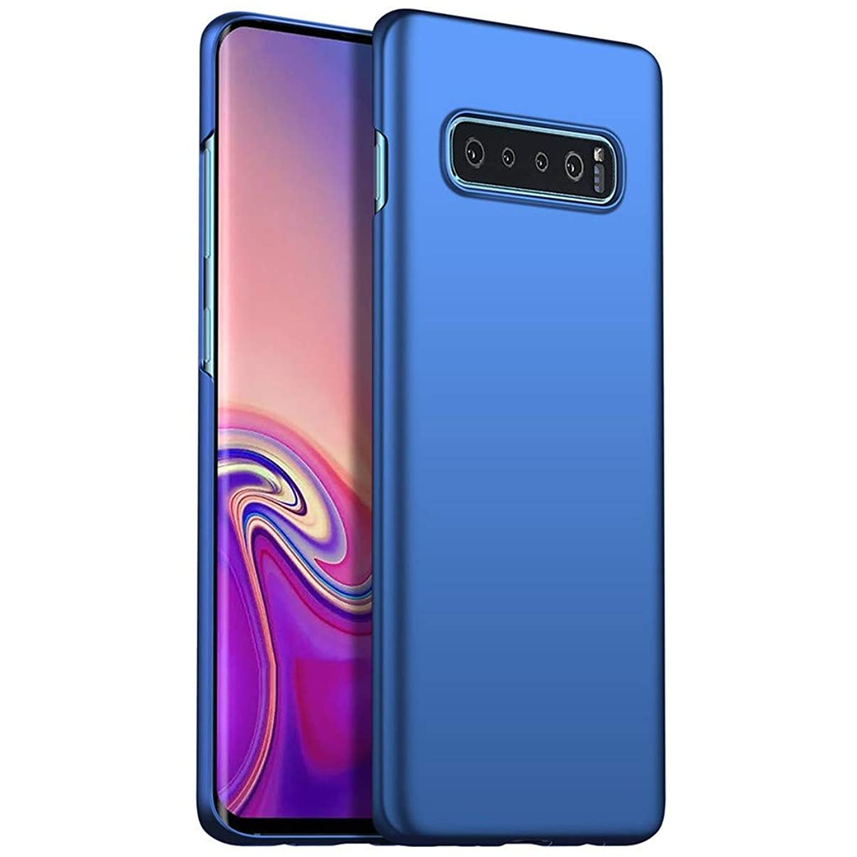 Ecurson Samsung Galaxy S10 Plus 6.3in Case, Ultra-Thin Luxury Hard PC Protective Case Cover for Samsung Galaxy S10 Plus 6.3inch (2019 Release)