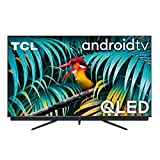 TCL 55C811, 55 pollici QLED TV, 4K Ultra HD, Smart TV con Android 9.0 (Dolby Vision – Atmos, sistema Audio Onkyo, Motion clarity PRO, HDR 10+, Micro dimming, Controllo Vocale, compatibile con Alexa