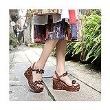 BLEMAER Sandalias de Gladiador para Mujer, Sandalias de...