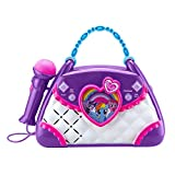 My Little Pony Sing Along Boombox with Real Working Microphone, Built in Music and MP3 Player Compatible