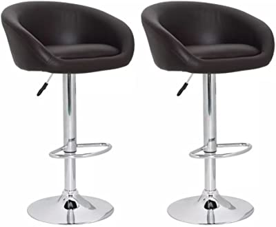 Tresko® set di 2 sgabelli bar moderni sedia bar sgabello lounge