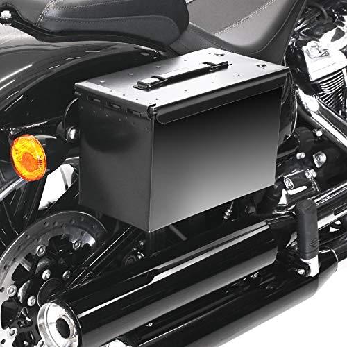 Satteltasche M2A1 + Halter abnehmbar für Harley Softail Standard 2020 rechts