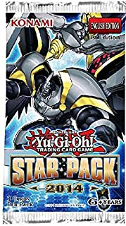 YuGiOh Card Game Star Pack 2014 Booster (Yu-Gi-Oh)