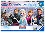 Frozen-128013 Otro Otro Puzzles con diseño Panorama, 200 Piezas, XXL (Ravensburger 12801)