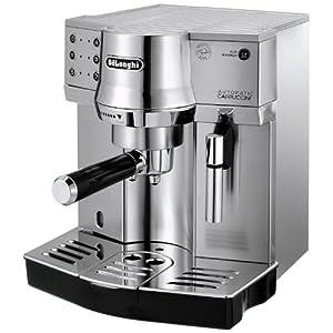 De'Longhi EC 860.M – Máquina espresso, independiente, 1450 W, 1 L, acero inoxidable, plateado, 41 x 33 x 44 cm