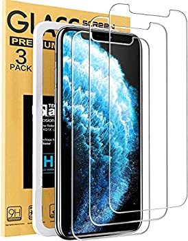 Mkeke Compatible with iPhone 11 Pro Screen Protector iPhone X Screen Protector iPhone Xs Tempered Glass Screen Protector All 5.8 inch New iPhone [3-Pack]