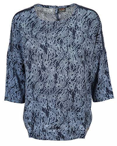 soquesto Damen Bluse Größe 40 EU Blau (blau)