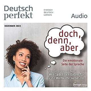 Deutsch perfekt Audio. 12/2015 audiobook cover art