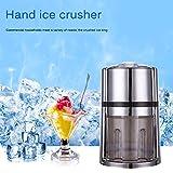 Kohyum Eiszerkleinerer, mit Handkurbel mit rutschfestem tragbaren Eishacker Spülmaschine gereinigt...
