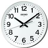 セイコー クロック 掛け時計 電波 アナログ オフィスタイプ 白 KX317W SEIKO