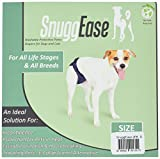 Integrated Pet Solutions SnuggEase Washable Dog Diaper, Value Pack, Small