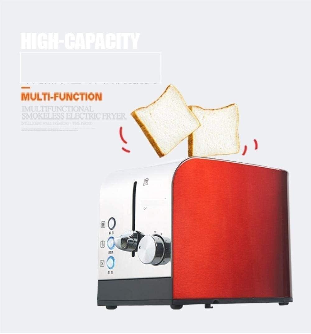 Machine à Pain Grille-Pain Machine à Pain Accueil Multifonctions Petit déjeuner Spit Petit Pilote Mini Dortoir entièrement Automatique Machine à Pain numérique (Color : C) C