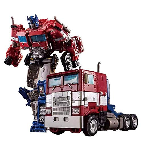 Juguetes de Transformers, Optimus Prime Deformed Autobot King Kong Toy Siege Siege Pillar Commander imitación (Caja de Color)