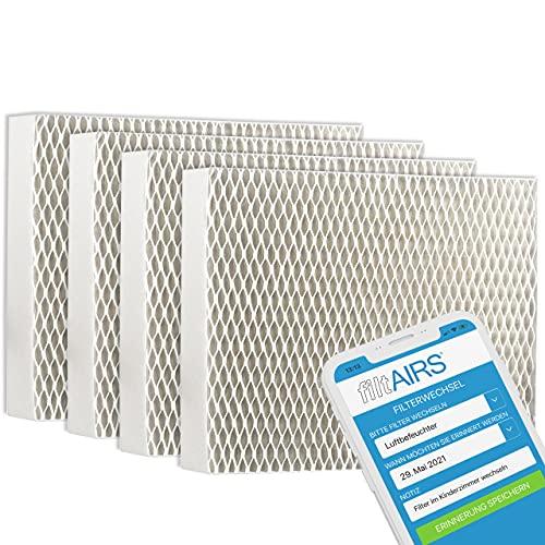 4 Filter für Stadler Form, Luftbefeuchter Filter, effizient und hygienisch, Alternativfilter, passend zu Oskar, Little und Oskar Big (4)