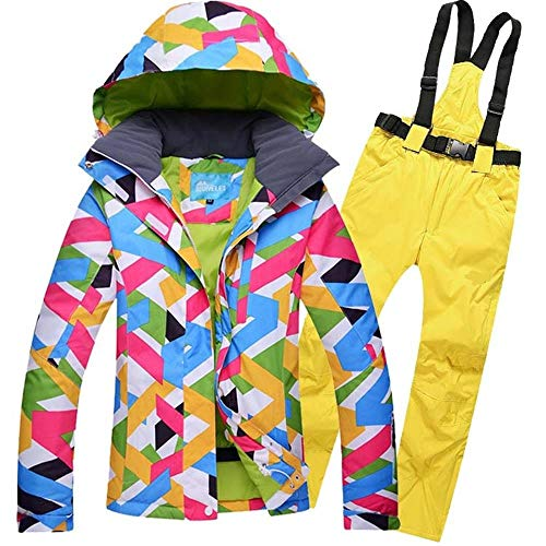 KIBILLL Sneeuw Winter Ski Suit Vrouwen Skiën Set Merk Vrouwelijke Snowboard Jas Water En Winddicht Dames Sneeuw Jas En Broek