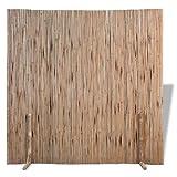 Divisorio da balcone o terrazzo in canniccio di bambù