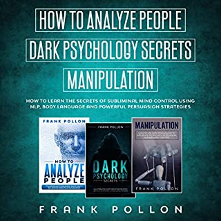 How to Analyze People, Dark Psychology Secrets, Manipulation cover art