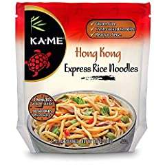 Hong Kong cuisine is largely influenced by Cantonese cuisine Rice noodles are an integral part of many Chinese dishes Hong Kong Rice Noodles are gluten-free Fresh Cooked Noodles Ready to serve in 2 minutes