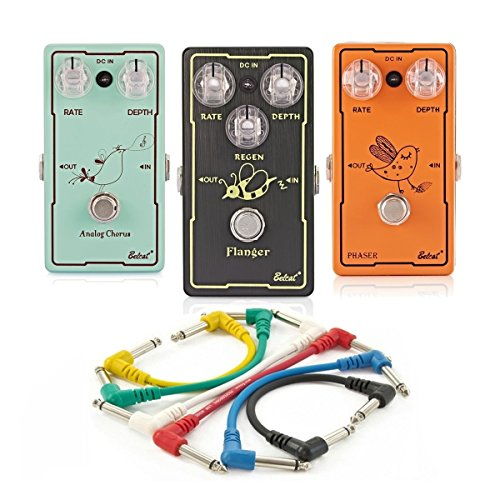 Belcat 3 Pedal Modulation Guitar Effects Pack