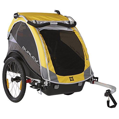 Discover Bargain Burley Design Cub Bike Trailer, Yellow