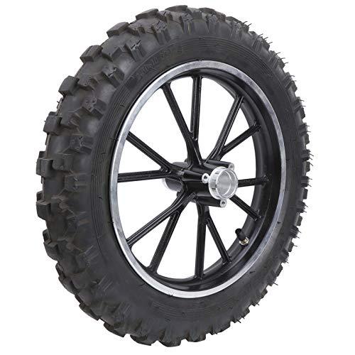 Neumático para Dirt Bike, 2.50-10in 60/100-10 Neumático Llanta Antideslizante para PIT PRO Trail Dirt Bike Thumpstar