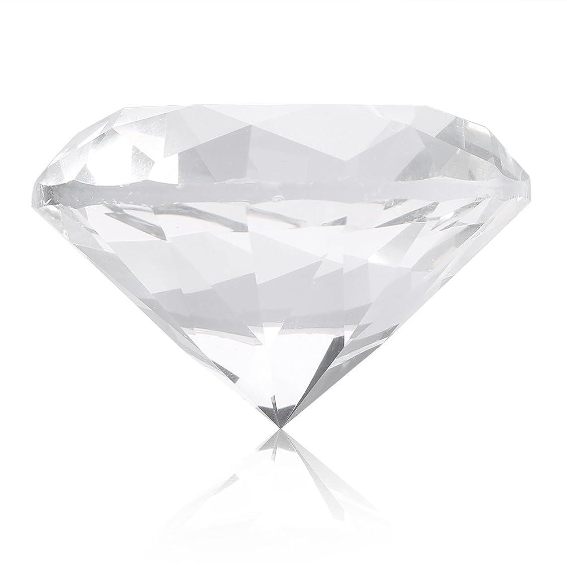 教えて寛大なエミュレートするネイルチップスタンド ネイルチップホルダー スタンドベース ネイルアートディスプレイガラスクリスタルダイヤモンドハンドモデルシュート (白)