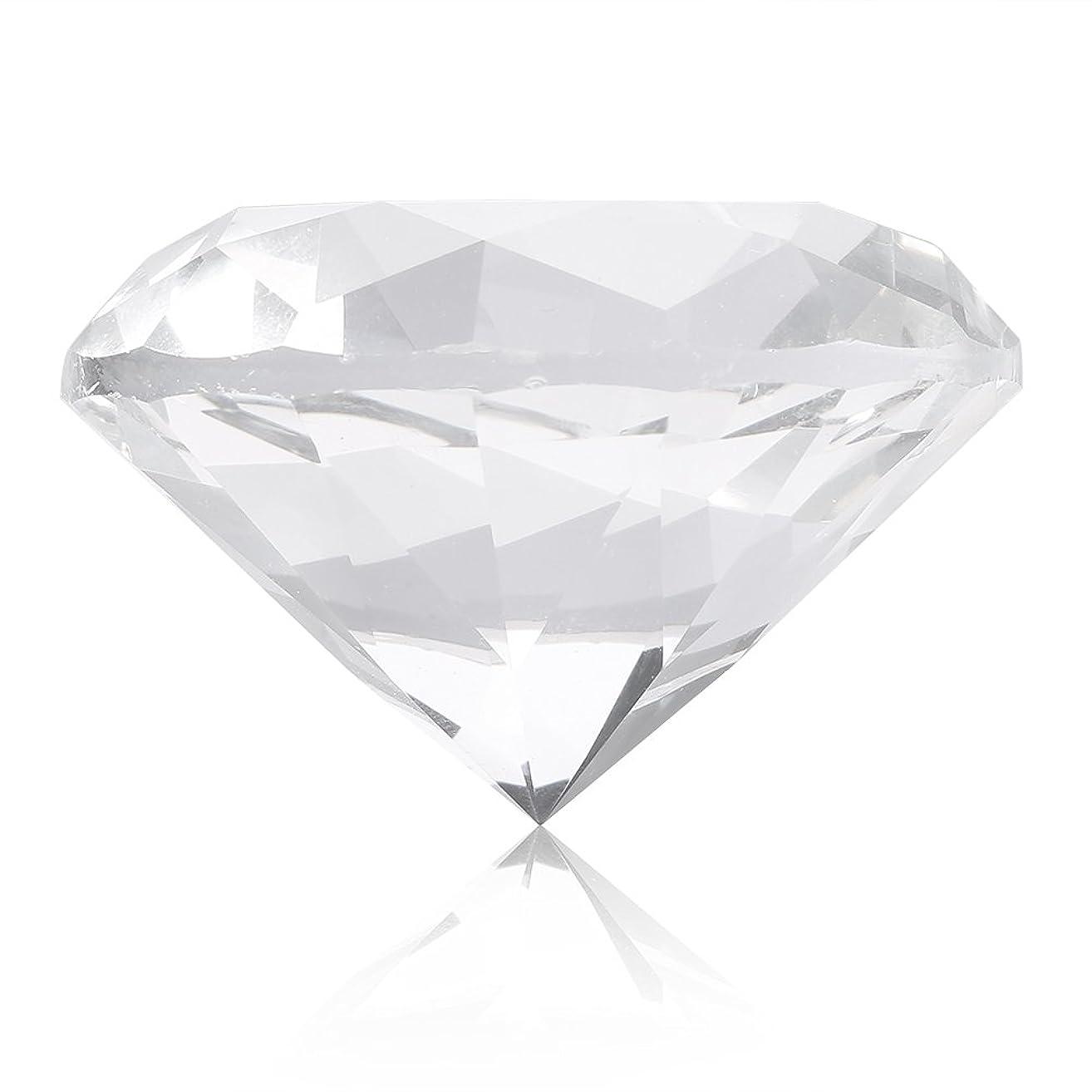食欲本当のことを言うと縫うネイルチップスタンド ネイルチップホルダー スタンドベース ネイルアートディスプレイガラスクリスタルダイヤモンドハンドモデルシュート (白)