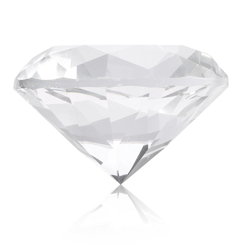 完全に正確孤独なネイルチップスタンド スタンドベース ネイルアートディスプレイ ガラス クリスタル ダイヤモンド 撮影道具 モデル ネイルチップホルダー (ホワイト)