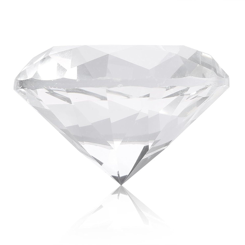 ピジン傾いたボリュームネイルチップスタンド スタンドベース ネイルアートディスプレイ ガラス クリスタル ダイヤモンド 撮影道具 モデル ネイルチップホルダー (ホワイト)