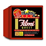 Fun action packed game for parties or for hours of entertainment with friends and family with this Bollywood Hindi movies game Includes 175 cards with questions, actors, dialogues and more One dice, instruction and answers sheet Perfect for family ti...