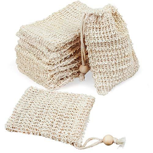 Soap Exfoliating Bag, Soap Bag, Mesh Soap Bag for Bath & Shower Use - 8 PCS