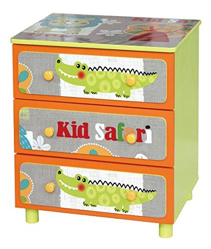 Liberty House Toys TF4801Kid Safari 7,6cm cassettiera