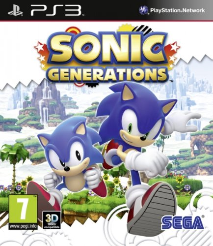 SEGA Sonic Generations, PS3 - Juego (PS3, PlayStation 3, Aventura, Blu-ray)