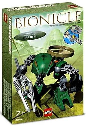 últimos estilos LEGO Bionicle Rahaga Mini Figure Figure Figure Set  4879 Iruini (verde)  envío rápido en todo el mundo