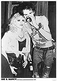 Unbekannt Sex Pistols Poster SID Vicious & Nancy Vortex
