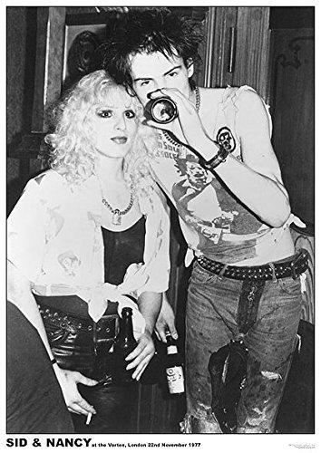 Unbekannt Sex Pistols Poster SID Vicious und Nancy Vortex London 1977