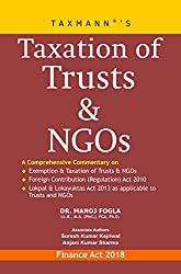 Taxation of Trusts & NGOs (Finance Act 2018)