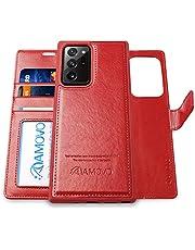 AMOVO Galaxy Note20 Ultra ケース 手帳型 取り外し可能 Note20 Ultra 5G SCG06 ケース カード収納 横開き スタンド機能 ギャラクシー Note20 Ultra ケース